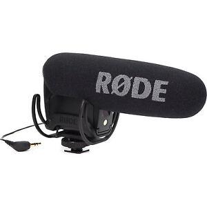 Microfono-Professionale-RODE-R-DE-VideoMic-PRO-Rycote-direzionale-condensatore