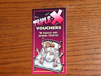 Couple Sexual Vouchers Coupons Book Sexual Vouchers Great Gift For Any Couple