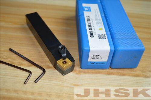 1× MCBNL2020K12 20×125mm Left External Lathe Turning Holder For CNMG1204 inserts
