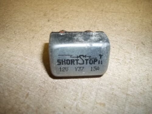 Short Stop II 12V 15A Y37 Circuit Breaker Fuse *FREE SHIPPING*