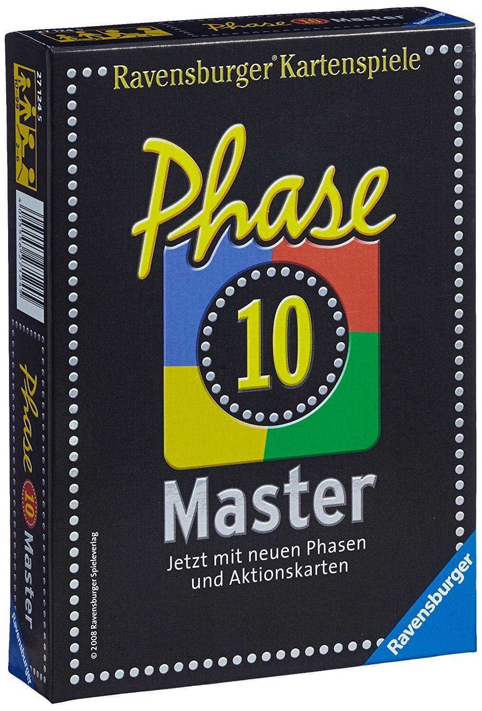 NEU/OVP Ravensburger Phase 10 Master Kartenspiel Spielkarten 27124