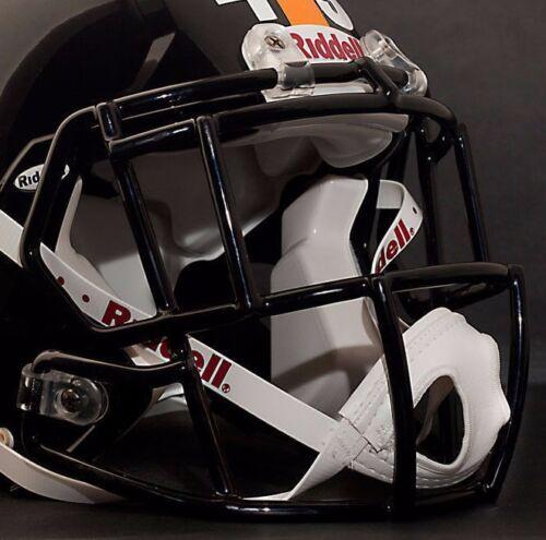 TROY POLAMALU PITTSBURGH STEELERS Riddell Speed S2EG-SP Football Helmet FACEMASK