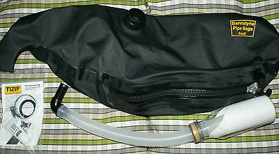 Bannatyne Hide Synthetic Side-Zipper Pipe Bag for Bagpipes