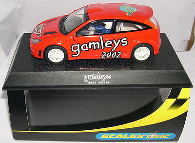 """Methodical Scalextric C2471a Slot Car Ford Focus Wrc """"gamleys 2002 Red"""" Lted.ed Mb Elektrisches Spielzeug"""