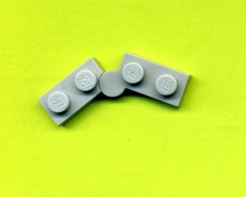 1 x 2 --Platte Lego-- 2429//2430 Scharnier-- Klappscharnier Grau//MDStone