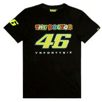 New Valentino Rossi MOTO GP46 Motorcycle short sleeves VR 46 The Doctor T-shirt