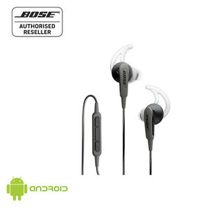 NEW Bose Headset SoundSport In-Ear Headphones for Android w/Case BLACK ...