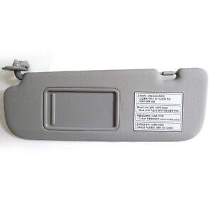Left driver Inside Sun Visor Gray OEM For Hyundai Elantra   Avante ... b943946f204