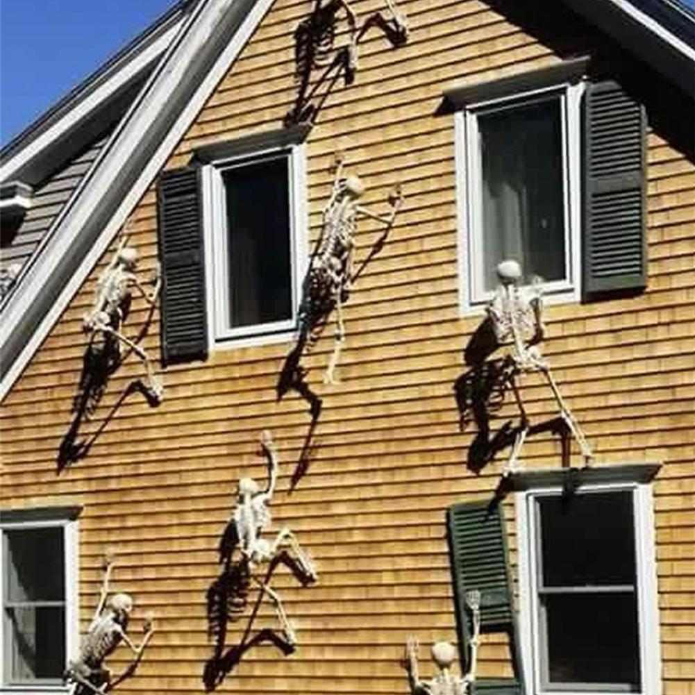 Halloween Props Luminous Human Skeleton Hanging Decoration O