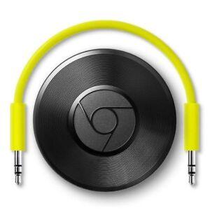 Google-Chromecast-Audio-Media-Music-WIFI-Wireless-Streamer-IOS-Android-UK-NEW