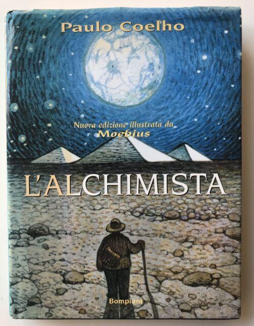 L'Alchimista  Illustrato da Moebius - Paulo Coelho - Bompiani 1996