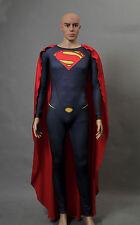 Superman Man of Steel Licensed Adult Men's Jumpsuit Cosplay Costume Tailored
