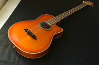 Greco Acoustic Electric Bass Made in Japan in 1990s Super Rare Fretless
