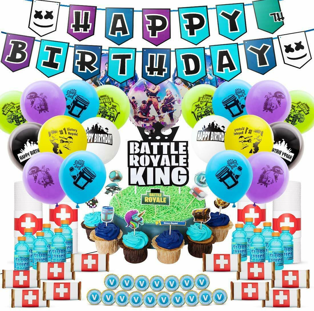 Game Happy Birthday Party Banner Game Party Supply Ornaments