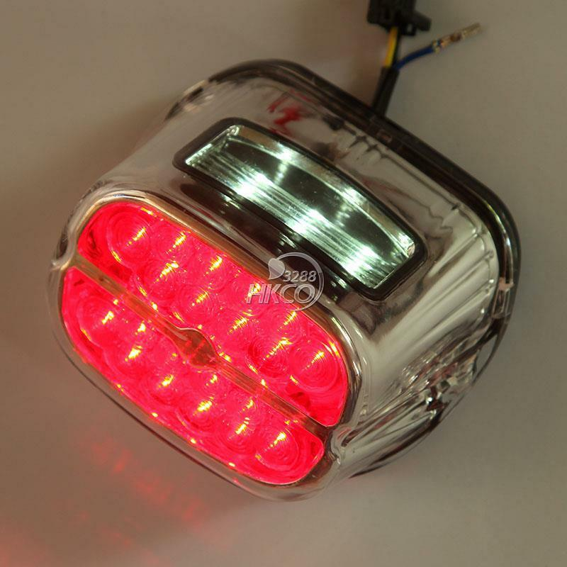 led brake turn light for harley road king electra glide ultra touring ebay