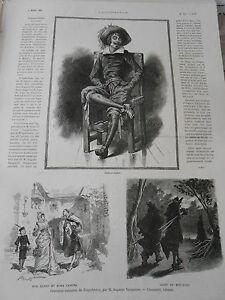 Volontaire Gravure 1886 - Tragaldabas