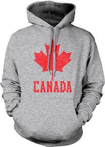 CANADA CANADIAN FLAG LOVE HEART ADULTS TEENAGER ELECTRIC HOODIE HOODY