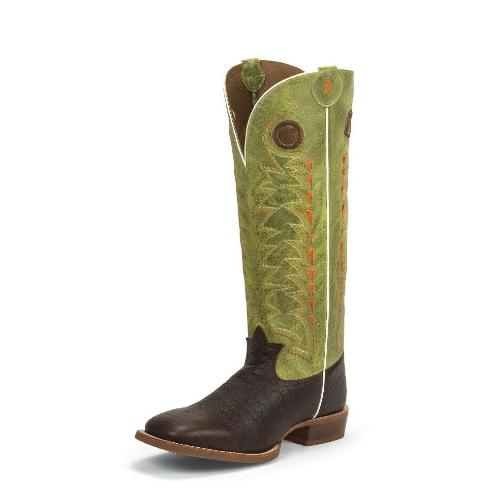 Tony Lama para Hombre Puntera Cuadrada botas Cowboy GONZALES Suela de goma - 3R1028