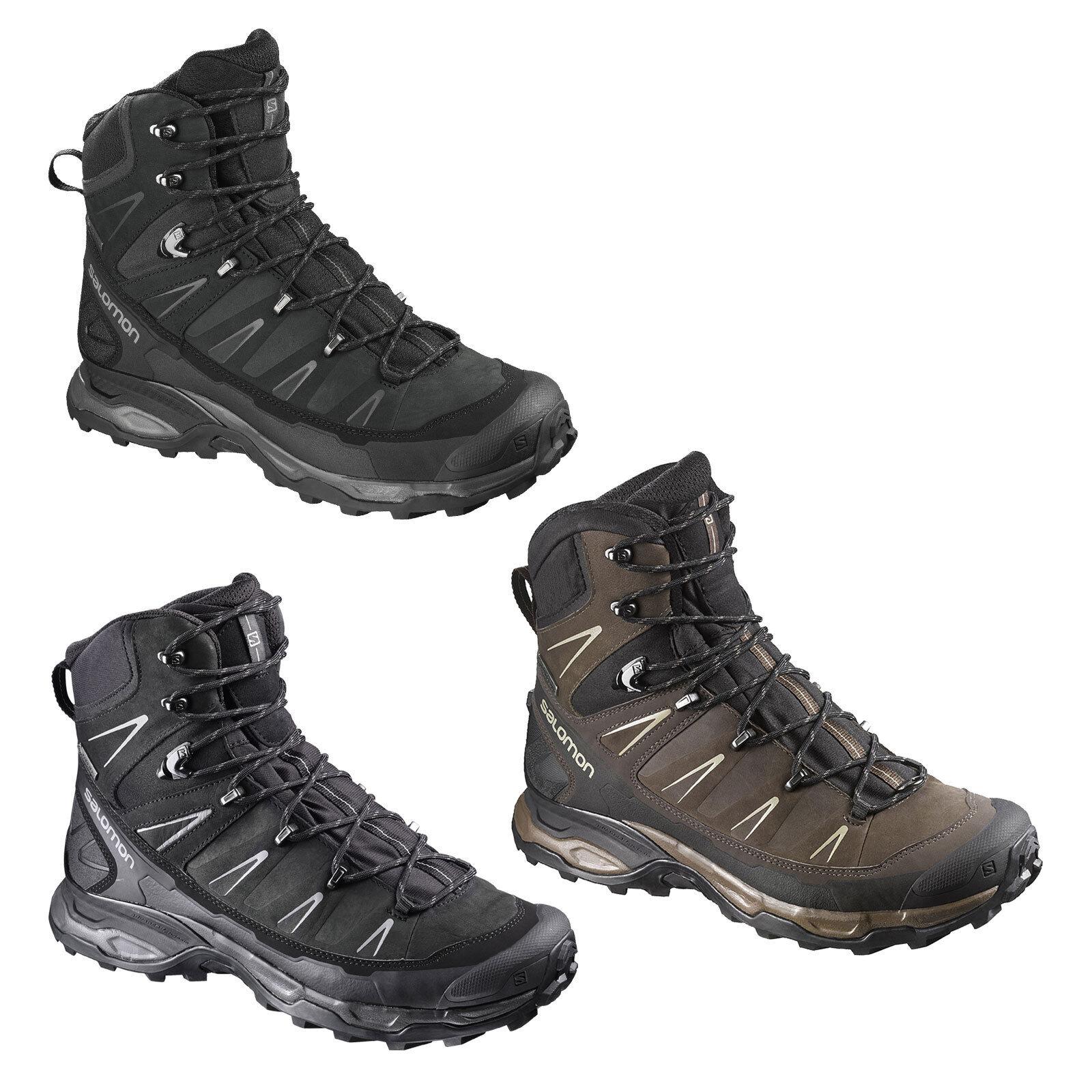 Salomon X Ultra Trek GTX GoreTex wasserdicht Herren-Wanderschuhe Stiefel Trekking  | Räumungsverkauf