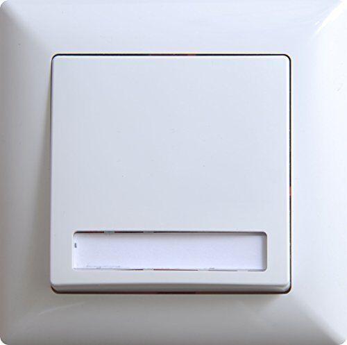 Gunsan Visage Klingeltaster mit Namensschild Unterputz Steckklemm-System Weiss