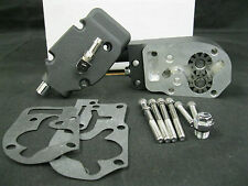 Ultima Wrinkle Black Billet, High Output Oil Pump for Harley Big Twin 1992-Later