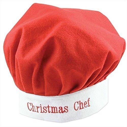 Chef/'s hat Misura Adulto per Natale