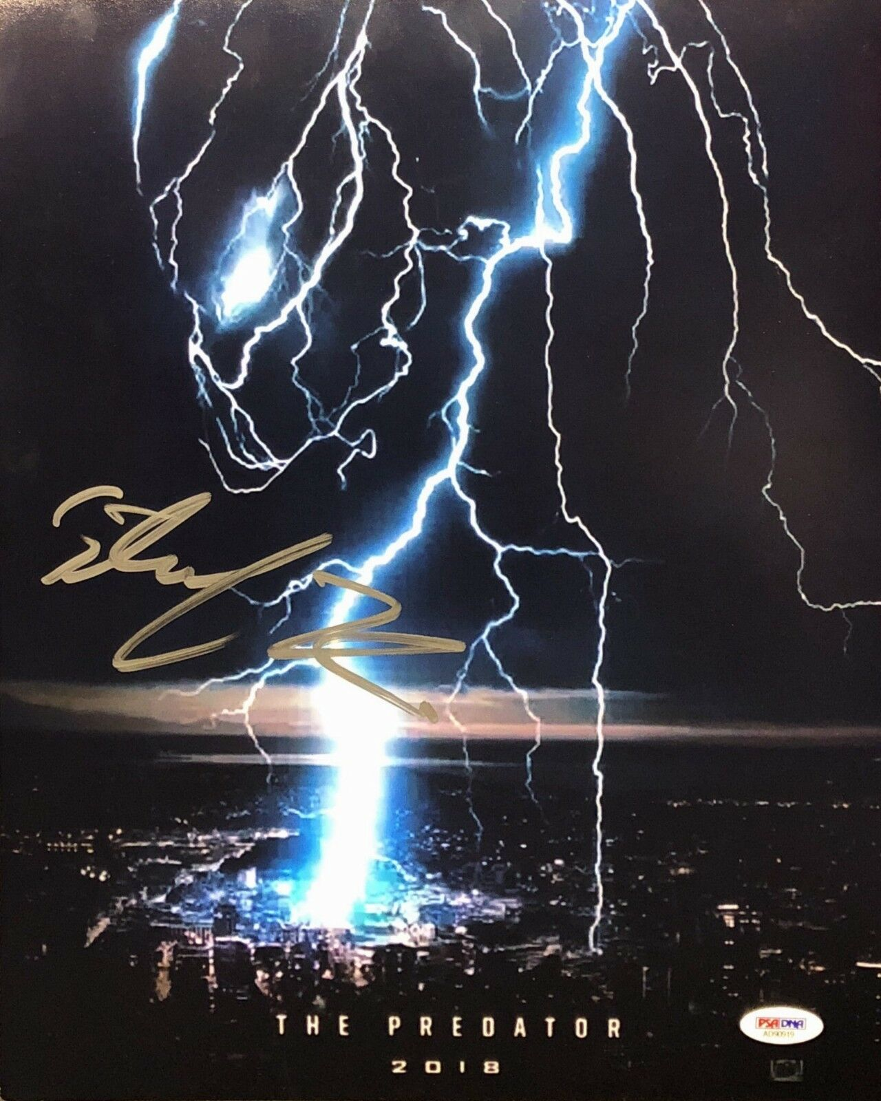 Sterling K Brown Signed 'The Predator' 11x14 Photo PSA/DNA AD90919