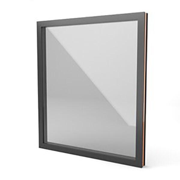 Fenster aus AluminiumWarmcoreSehr effizientSingle Fixed600mm x 700mm