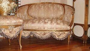 French Antique Settee Sofa Loveseat Circa 1800 039