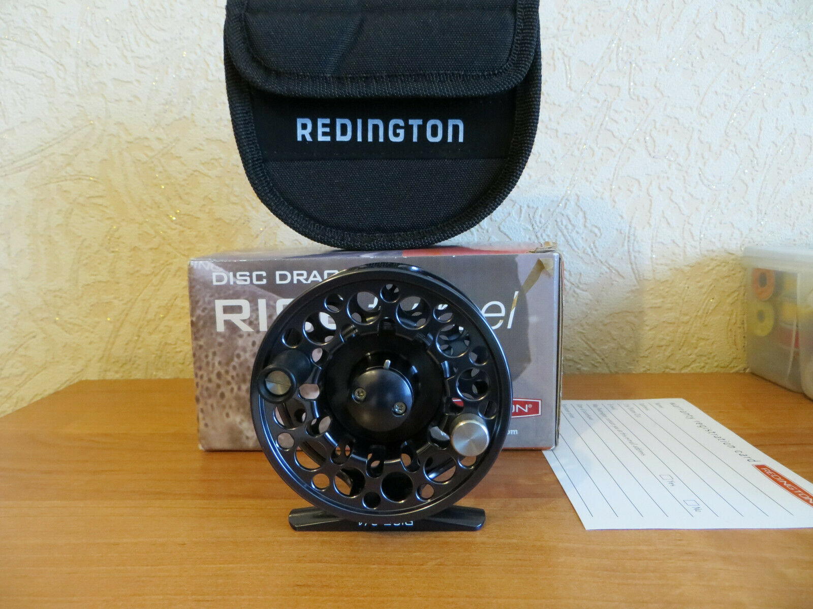 rotington Rise 3 4 Dark Charcoal Fly Reel
