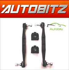 FITS JAGUAR X TYPE 2001-2009 FRONT STABILISER LINK BARS & ANTI ROLL D BUSHES 4PC