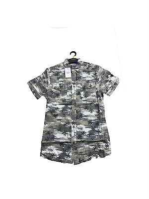 Besorgt Peacocks Mens Shirts Short Sleeve Camo Hawaiian Rrp 12.00 SpäTester Style-Online-Verkauf Von 2019 50%