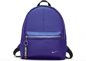 015af74583 Nike Just Do It Black Backpack Rucksack Gym School PE Bag Kids ...