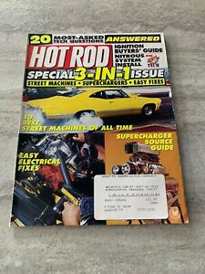 Hot-Rod-Magazine-August-1995-Street-Machines-Superchargers