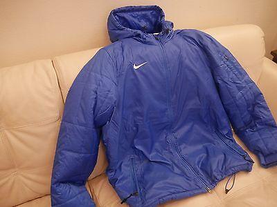 Nike Mens Rain Jacket Team Sideline Rain Jacket Royal Blue