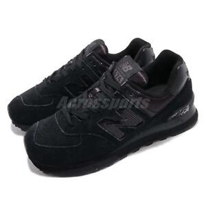 New-Balance-WL574FHA-B-574-Black-Women-Running-Casual-Shoes-Sneakers-WL574FHAB