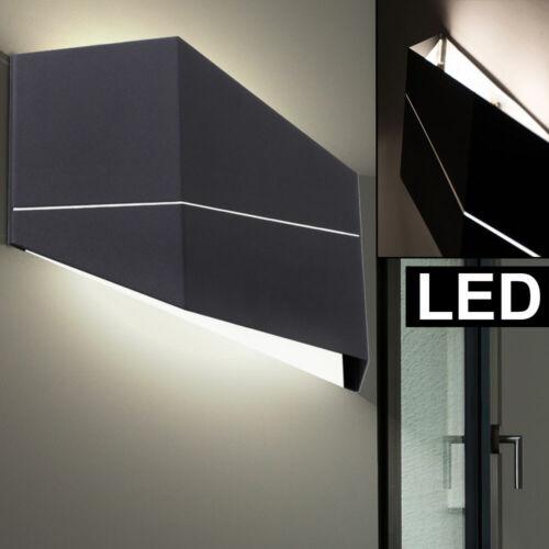 LED Design Wand Leuchte schwarz Wohn Zimmer Beleuchtung Up Down Strahler Lampe