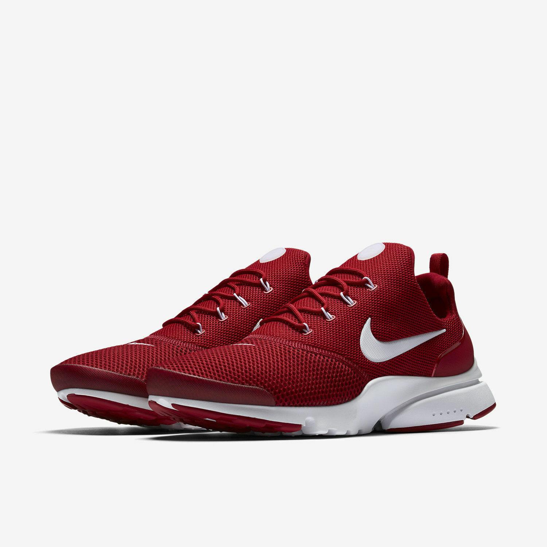 Mens Nike Presto Fly 908019-600 Gym Red White NEW Size 11.5