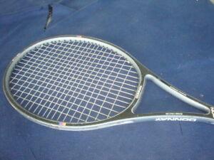 Donnay Gti-25 Tressé Graphite Raquette De Tennis Belgique 4 3/8 Grip-afficher Le Titre D'origine