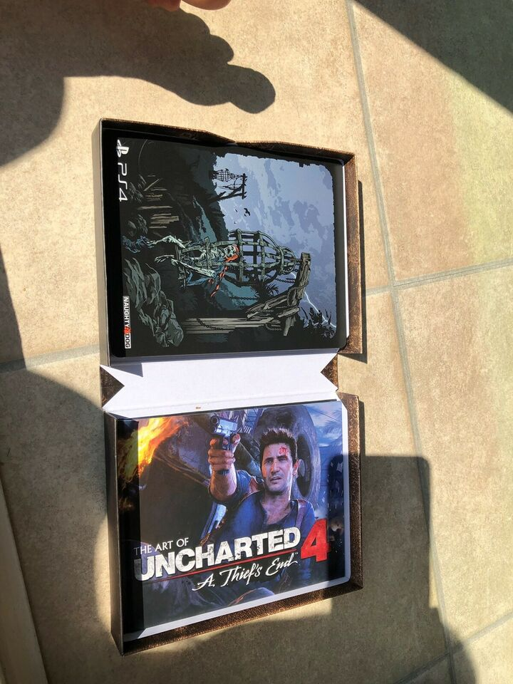 Uncharted 4 Deluxe, PS4, action