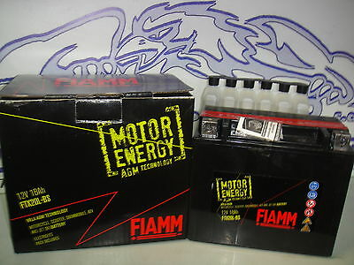 BATTERIA FIAMM MOTOR ENERGY FTX20L-BS = YUASA YTX20L-BS