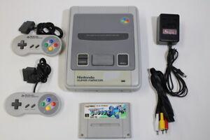 Nintendo-Super-Famicom-Console-amp-Rockman-Soccer-SFC-SNES-Japan-Import-K1313M