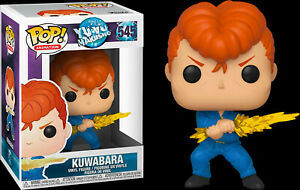 FUNKO POP ANIMATION: Yu Yu Hakusho Kuwabara New Toy Vinyl Figure