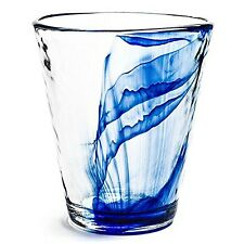 Bormioli Rocco Murano 14.875 oz. Drink Glasses Long Blue Set of 12