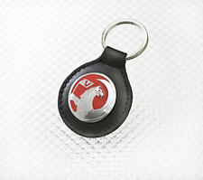 Vauxhall 100% Leather Key Fob Keyring Key Ring Black With NEW Griffin Logo