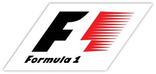 Formula One FIA F1 Racing  Logo Vinyl Sticker Decal