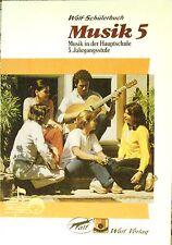 Wolf-Schülerbuch  Musik 5  Musik in der Hauptschule  5.  Jahrgangsstufe