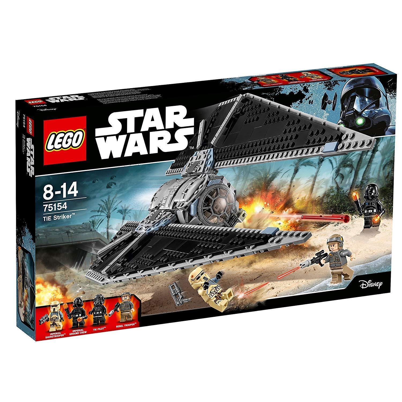 tempo libero LEGO LEGO LEGO 75154 Estrella Guerras-TIE Striker imbtuttiaggio 1b  consegna diretta e rapida in fabbrica