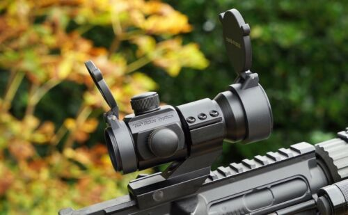 Vector Optics Stinger Tactical High End Red /& Green Dot CANNOCCHIALE 1x MAG