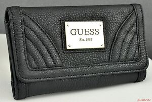 Details about NWT Wallet GUESS Colorado Springs Slg Black New Ladies